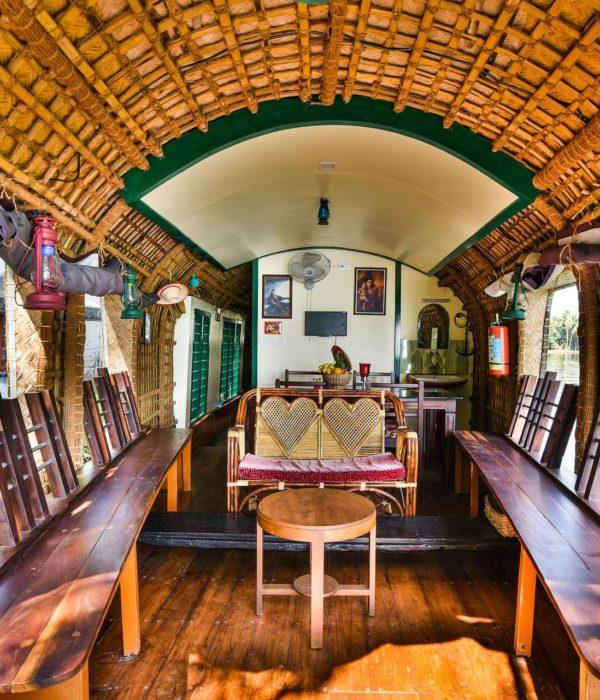 Kerala Backwaters Hausboot
