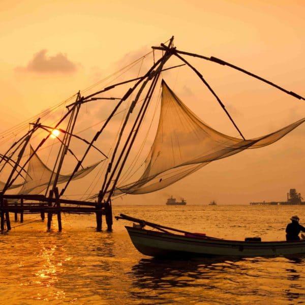 Chinesisches Fischernetz