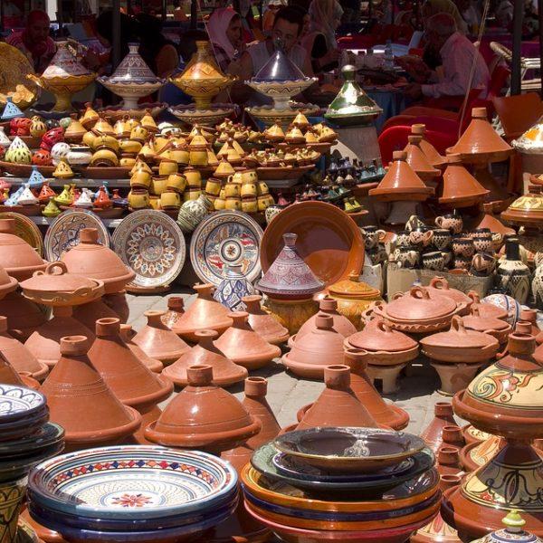 marché local en Inde